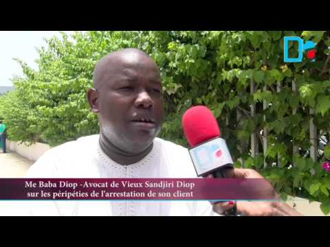 Me BABA DIOP, AVOCAT DE VIEUX SANDJIRI DIOP : « Le délit d'usurpation de fonction n'était pas sérieux et mon client a été induit en erreur par l'Apix »