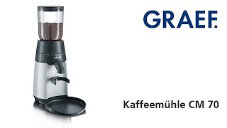 Kávomlýnek Graef CM 70