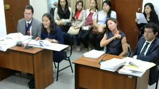 Primera parte de la Audiencia de Juzgamiento Laboral Caso Julia Maturana USAT