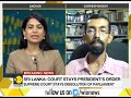 Breaking News: Sri Lankan Supreme Court stays dissolution of parliament