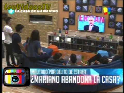 charla con Mariano decide quedarse en la casa de Gran Hermano 2015 #GH2015 #GranHermano