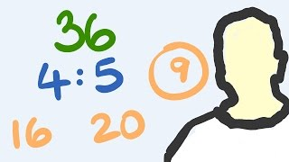 Dividing amounts into a ratio is not only easy, it can be done quickly with only a few steps.  You will be a master at this in only a few minutes through learning on the tecmath math channel!