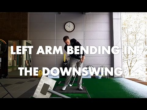 Golf Lesson – Why Does Your Left Arm Bend