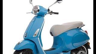 7. New Vespa Primavera Blue Colors 2018   Primavera Specs