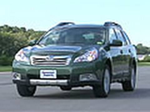 outback - The redesigned Subaru Outback has a bigger rear-seat and more room for cargo. But acceleration isn't great and emergency handling isn't as good as it should ...