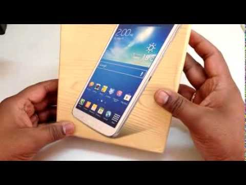 Samsung Galaxy Tab-3 (T311) Unboxing Video, Hands-on, Quick Review