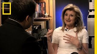 Aariana Huffington On Importance Of Meditation