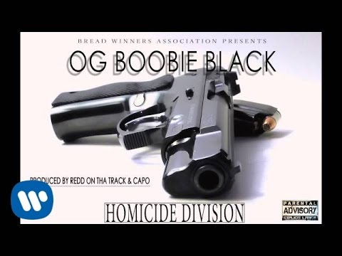OG Boobie Black - Homicide Division (Produced by Redd On Tha Track & Capo)