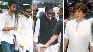 Video Emotional Shah Rukh Khan, Amitabh Bachchan At Shashi Kapoor's Funeral MP3, 3GP, MP4, WEBM, AVI, FLV Desember 2017