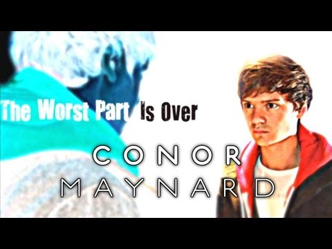 Tekst piosenki Conor Maynard - The Worst Part Is Over (cover) po polsku