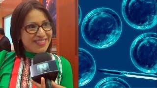 María de Jesús Medina es una investigadora de la UNAM propone a legisladores del Congreso de la Unión y de Nayarit que permitan el estudio de las células tro...