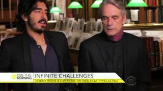 Nonton Dev Patel and Jeremy Irons on