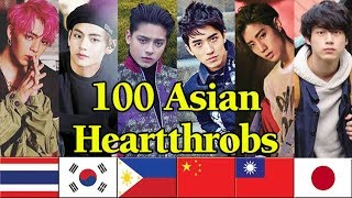 Video 100 ASIAN HEARTTHROBS of 2018 - V of BTS is the Winner! MP3, 3GP, MP4, WEBM, AVI, FLV Desember 2018