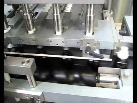 Liquid filler with capping machine