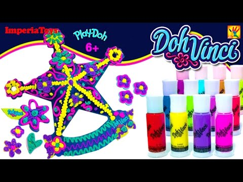 Play-Doh DohVinci U.S. NEW Hasbro PlaySet Design in 3D PLAY DOH
