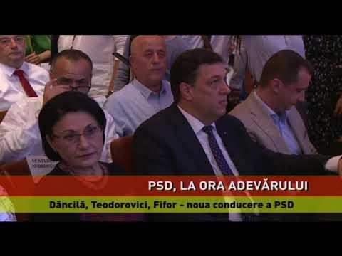 Dăncilă, Teodorovici, Fifor-noua conducere a PSD