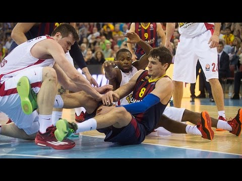 Highlights: Playoffs Game 2 vs. Olympiacos Piraeus