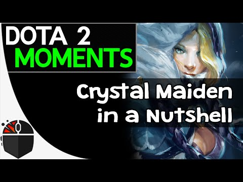 crystal - Crystal Maiden finishes her chores in close to 3 seconds. This video was made possible by a user submission. Thank you, Insult aka Mos (Kunkka) for the clip! Insult aka Mos is representing...