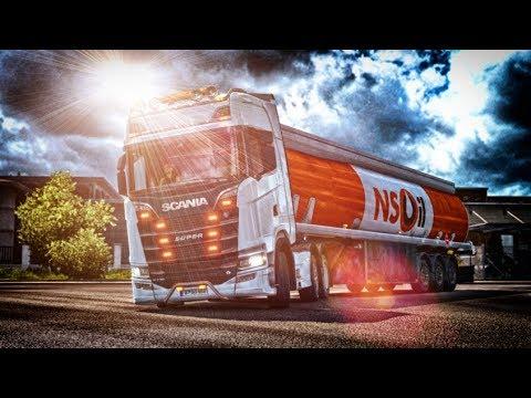 Alexander Swift Scania V8 Euro 6 Stock Sound v5.0