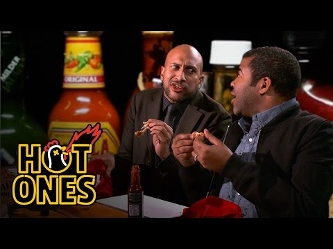 Key and Peele eat spicy wings