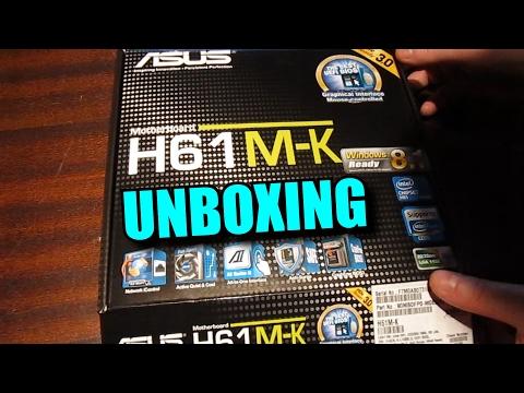 ASUS H61M-K MOTHERBOARD LGA 1155 [ UNBOXING ]
