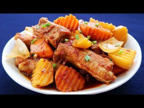 Món Ăn Ngon - SƯỜN KHO CAY KIỂU HÀN QUỐC thơm ngon lạ vị - Thời lượng: 10:01.