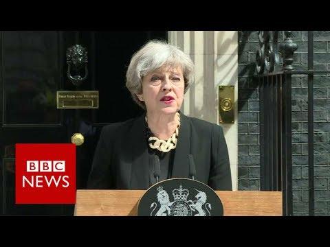 London Attacks: Theresa May 'Enough is enough' - BBC News
