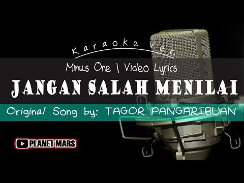 [Karaoke] Jangan Salah Menilai - Tagor Pangaribuan | Video Lyrics - Minus One Cover Ver.