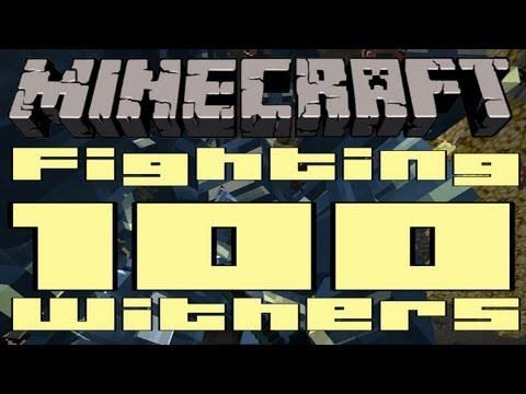 Minecraft - Fighting 100 Withers [Vanilla SMP]