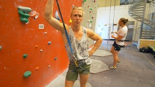 Thor The Top Rope God? by Eric Karlsson Bouldering