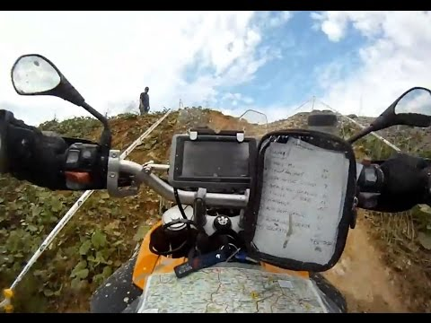 Touratech - Day 1 of the BMW / Touratech GS Challenge in the Schwarzwald from my onboard camera (ok, it's more a belly camera). My inglorious race the finale: http://www...
