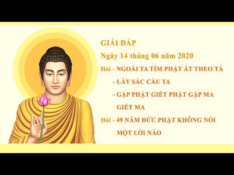 Thiền Tông Gia Đức Tịnh Giải Đáp ngày 14.06.2020