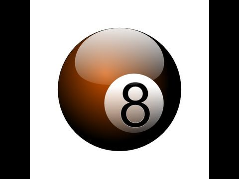 inkscape - http://www.LittleWebHut.com This Inkscape tutorial demonstrates how to use Inkscape to make an image of a shiny eight ball. Inkscape version 0.48 was used fo...