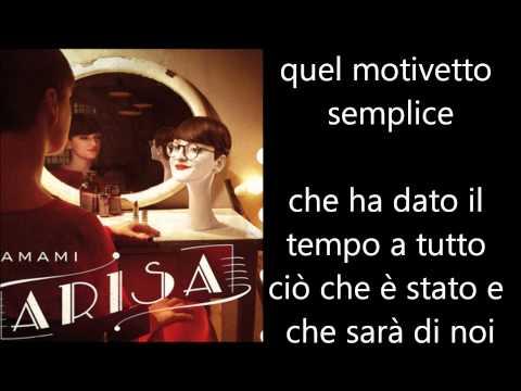 , title : 'Arisa - Amami Testo Lyrics'