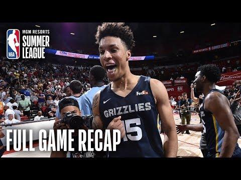 Video: GRIZZLIES vs TIMBERWOLVES | 2019 Championship Game | MGM Resorts NBA Summer League
