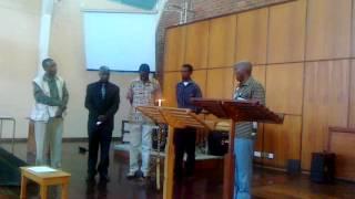 Ndebele Mthokozisi, trainee reporter for Zicora Mobile Network, Bulawayo, Zimbabwe (10 April 2012) -The people of Matabeleland (South-West of Zimbabwe) ...