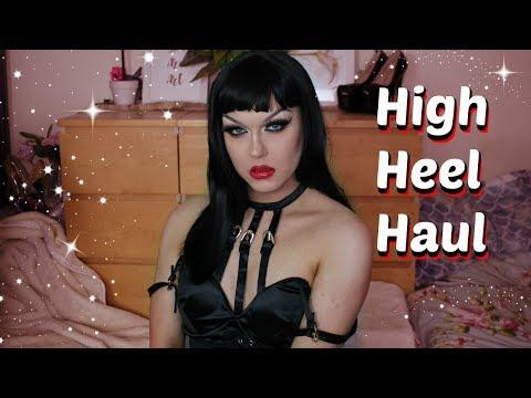 JustFab High Heel Haul & Try on | New Drag / Crossdressing heels
