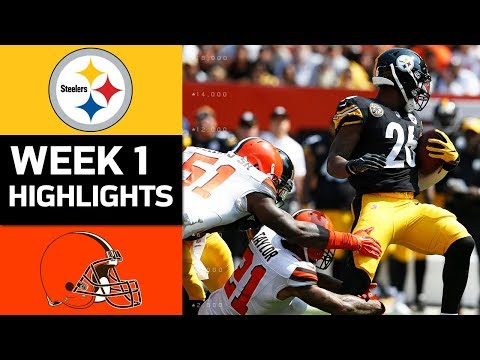 Steelers vs. Browns | NFL Week 1 Game Highlights - Thời lượng: 9:20.