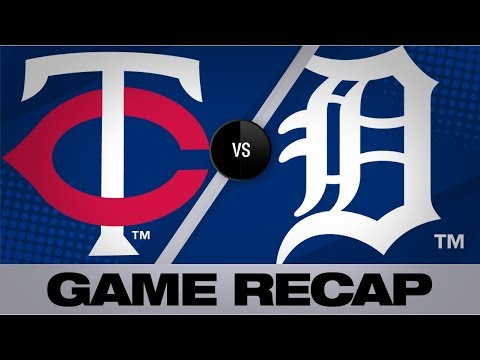Video: Kepler's 2-run single lifts Twins to win | Twins-Tigers Game Highlights 9/2/19