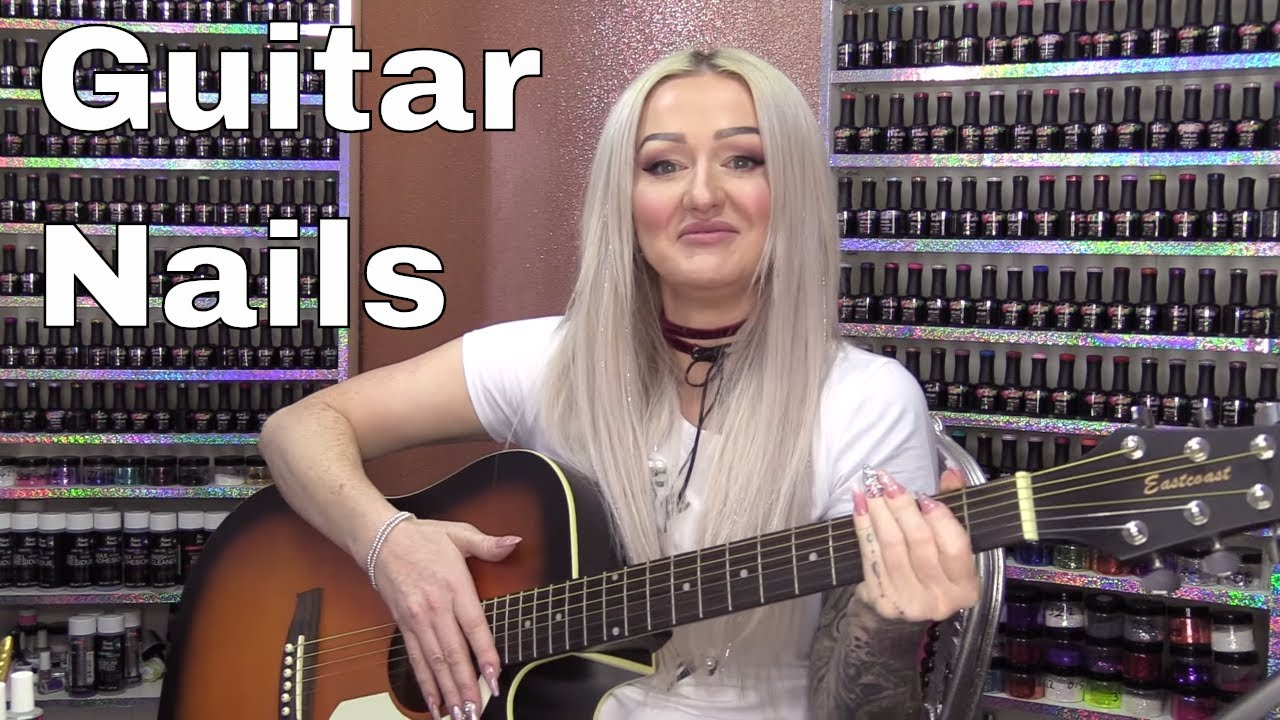 Matt Gets 'Guitar Pick' Acrylic Nails – Kirsty Does Stand Up Comedy?