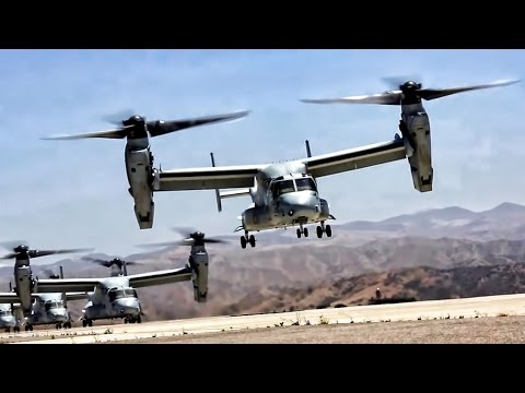 U.S. Marines conduct a massive...