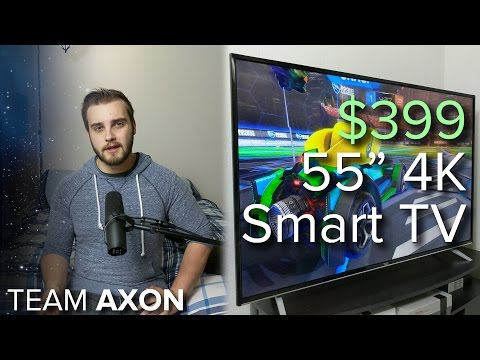 Are 4K TVs worth it yet? - $399 TCL 55