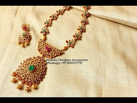 latest one gram gold jewellery collection