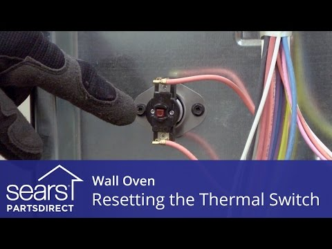 Wall Oven Won't Heat: Resetting the Thermal Switch