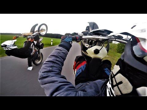 Livin' on the rear wheel ||KTM EXC 125||