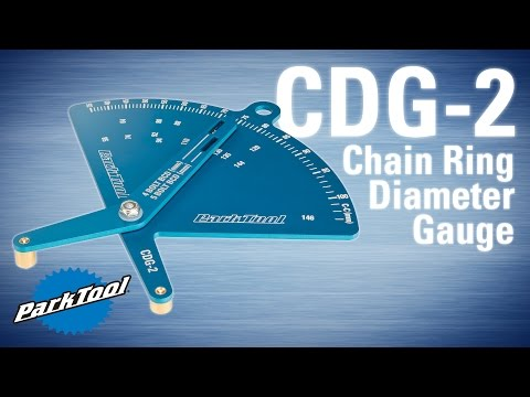 CDG-2 Chainring Diameter Gauge