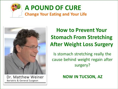 How to prevent your stomach from stretching after weight loss surgery