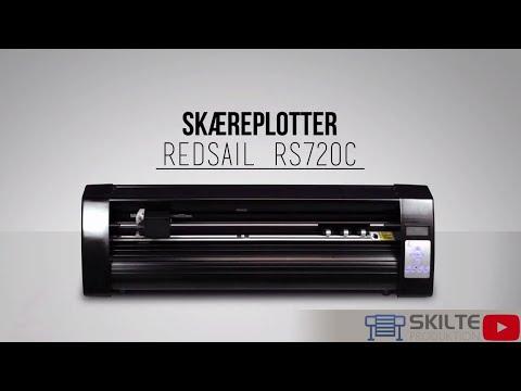 Skilteproduktion.dk - Skæreplotter model: Redsail RS720C