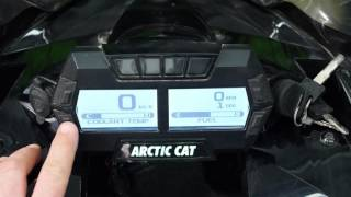 10. Arctic Cat Deluxe Digital Gauge
