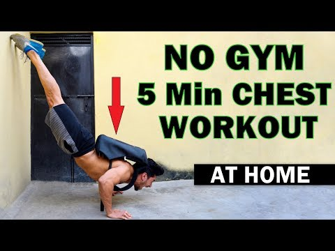 Fat burner - Easy Home Chest Workout (No Gym)